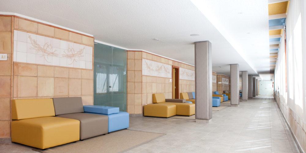 Zona de tratamientos Thalasso. Treatment area Thalasso