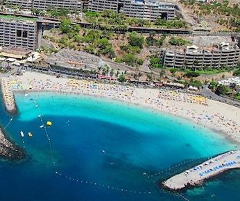 Stranden på Anfi del Mar
